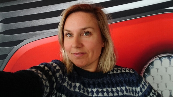 Silje Katrine Robinson er frilansfotograf i Bergen. Foto: Privat