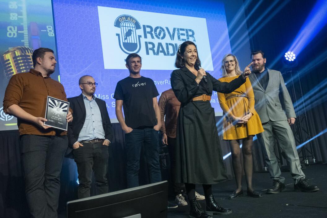 RøverRadioen med Mina Hadjian i spissen, fikk pris for Årets lokale sendeflate.