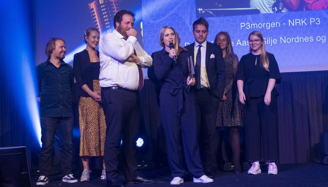 P3morgen fikk pris for Årets morgenflate og Årets radionavn. I desember er det slutt. Alle foto: Tor Erik Schrøder / Prix Radio