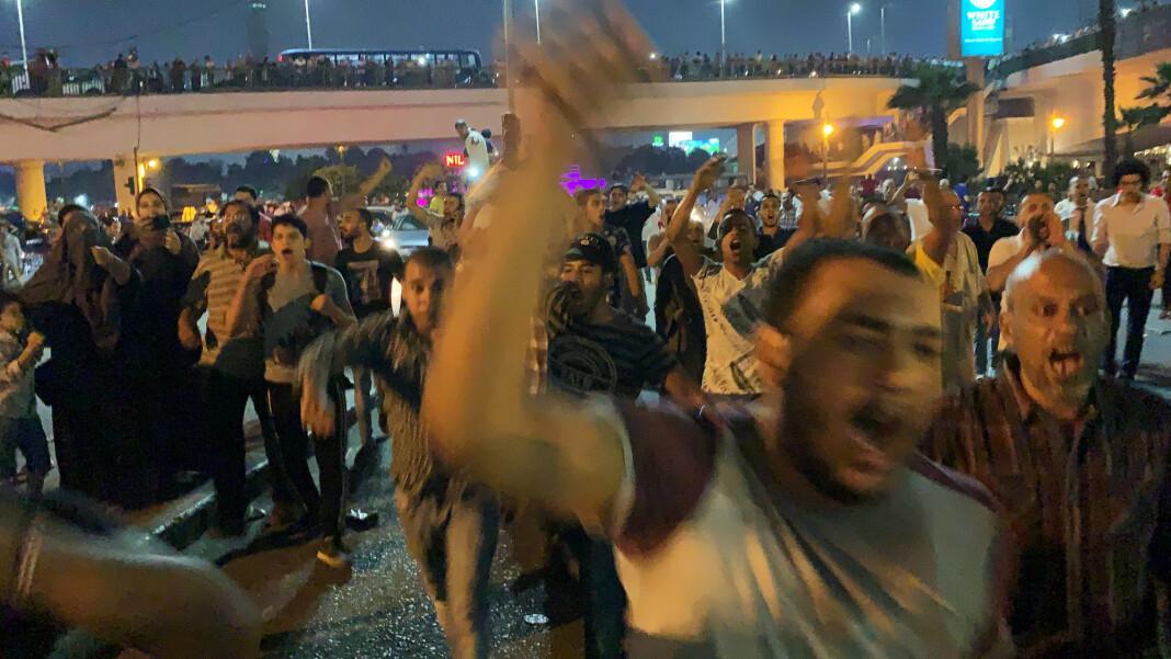 Det egyptiske regimet advarer mediene om at dekningen av demonstrasjonene mot president al-Sisi vil bli nøye overvåket. Foto: Reuters / NTB scanpix