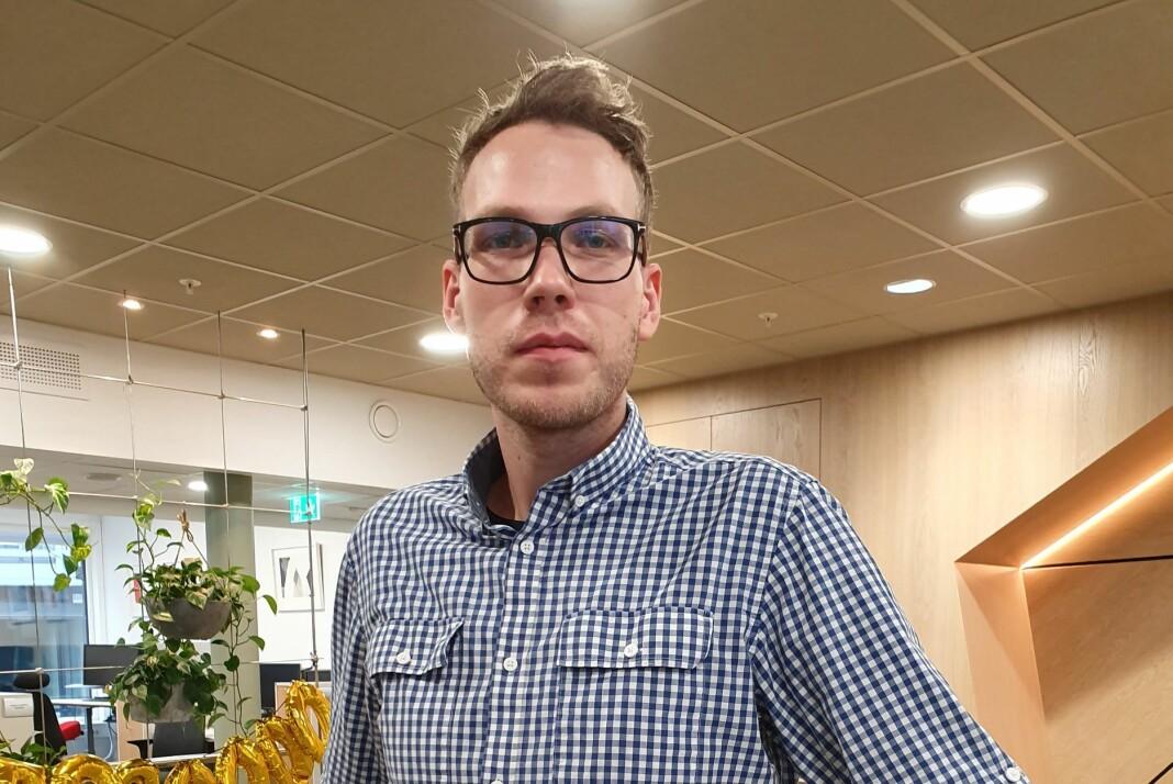 – Min tid i Nationen ble kort, men jeg tar med meg erfaringene fra en av de mest voksende avisene i Norge videre, sier Bjarne Krogstad. Foto: Privat