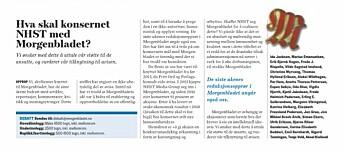 Faksimile fra Morgenbladet.