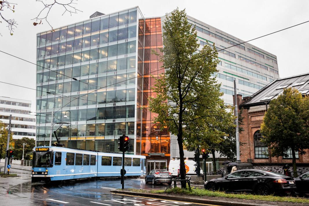 Morgenbladet holder til i NHST-bygget i Oslo sentrum. Foto: Eskil Wie Furunes