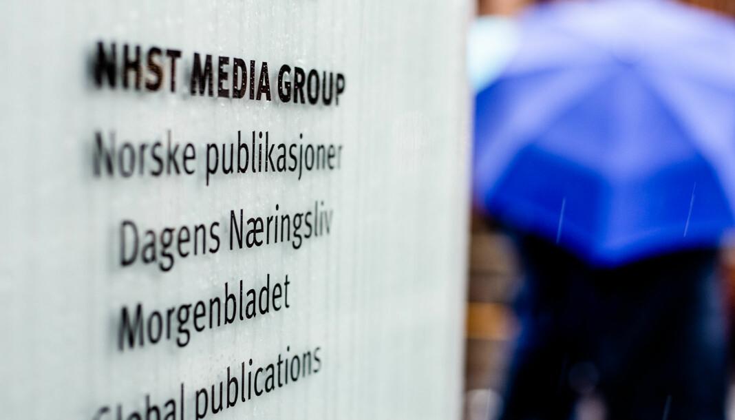 I NHST-bygget i Oslo sentrum har blant annet Dagens Næringsliv, Morgenbladet og en rekke bransjepublikasjoner kontorer.