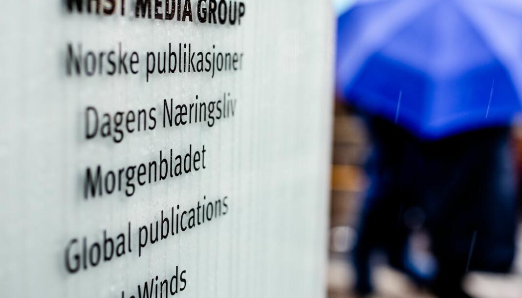 – Denne personen skulle nok helst ha sluttet to uker seinere enn det som var i avtalen, sier Morgenbladet-redaktør Anna B. Jenssen til Klassekampen. Foto: Eskil Wie Furunes
