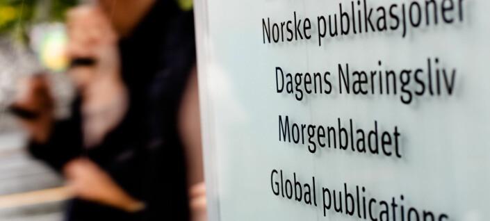 Morgenbladets sluttavtale: Eget punkt om å «ikke uttale seg negativt om hverandre»