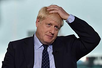 Boris Johnson anklages for å tafse på journalist
