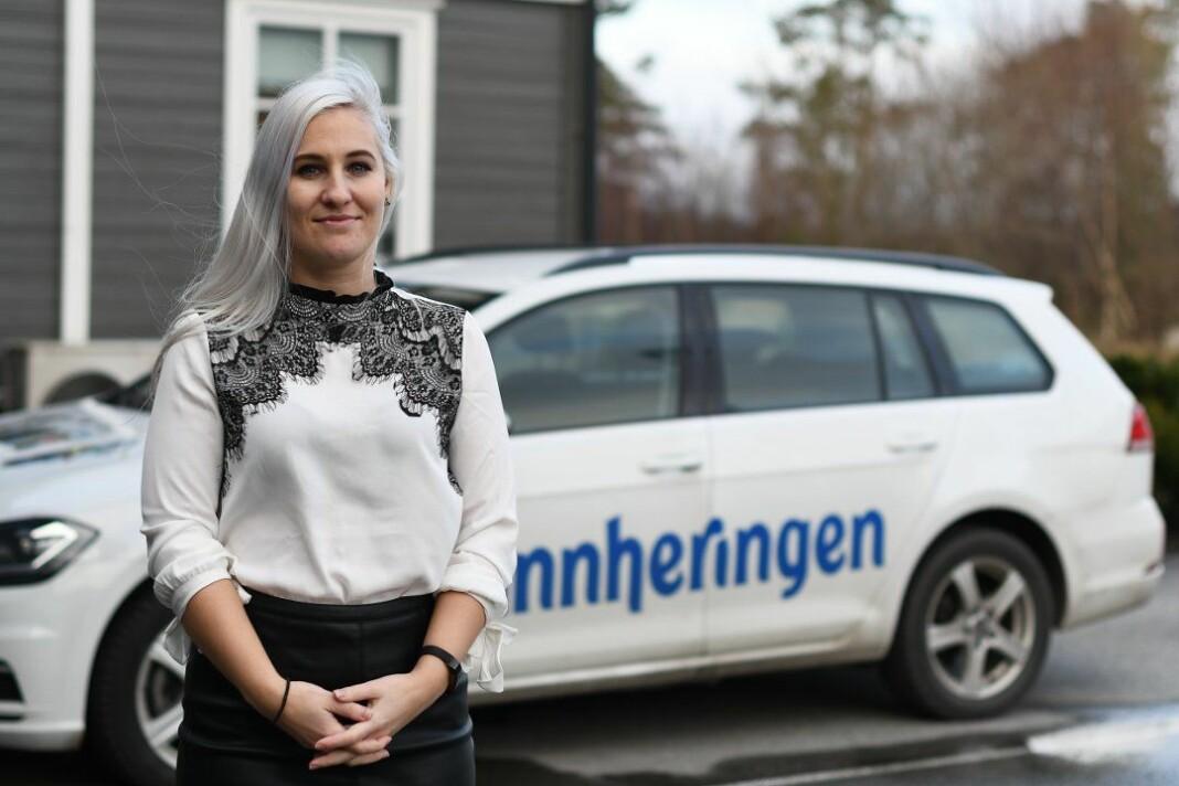 Mona Grønningen tar over ledelsen av Kvinnheringen på fulltid. Foto: Amedia