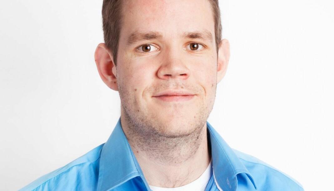 Siden 2010 har Ole Martin Sjetne jobbet som reporter og nyhetsanker i P4 på Lillehammer. Nå går han til GD. Foto: Privat