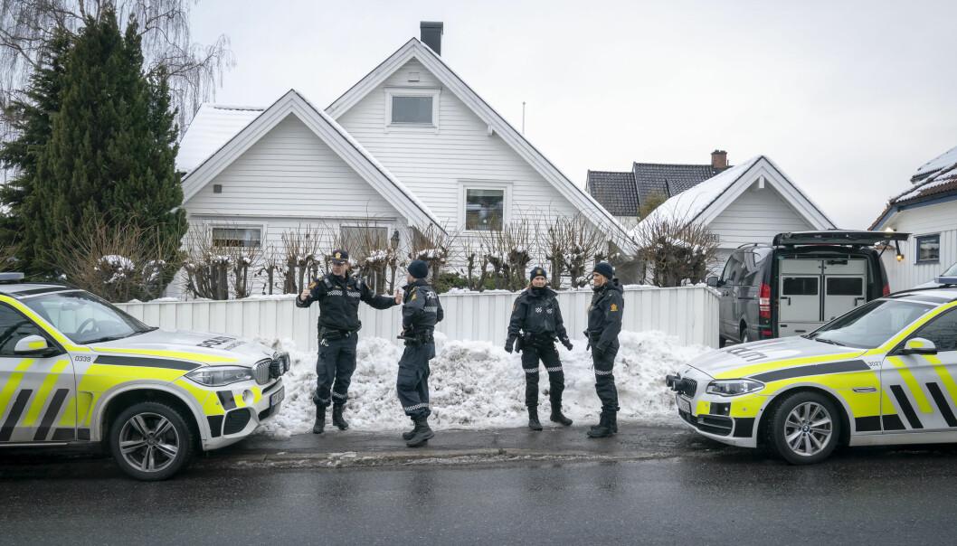 Laila Anita Bertheussen beskylder PST for å lekke informasjon om straffesaken mot henne til mediene. Foto: Heiko Junge / NTB scanpix