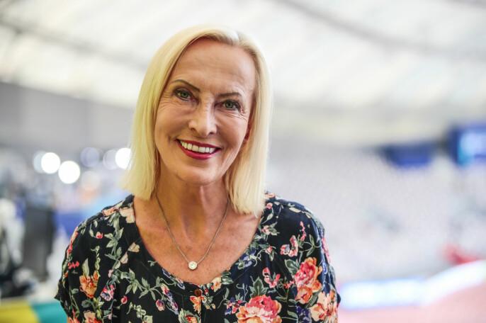 NRK-journalist og kommentator Karen-Marie Ellefsen går straks over i pensjonistenes rekker. Foto: Lise Åserud / NTB scanpix