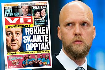 Peker på VG-artikler som utløsende faktor bak påstått utpressing av Røkke