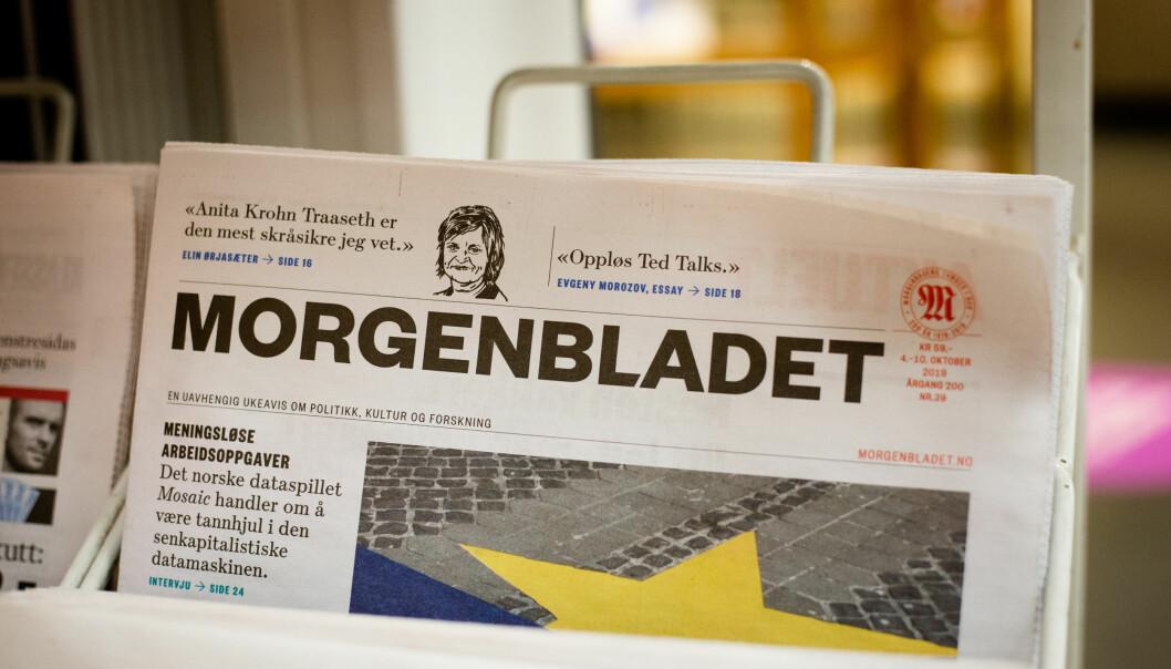Morgenbladet solgte lang færre abonnement under årets sommerkampanje sammenlignet med i fjor. Illustrasjonsfoto: Eskil Wie Furunes