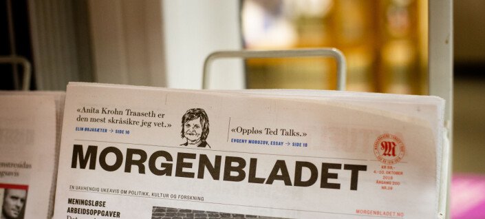 Skribenter vil levere til Morgenbladet igjen: – Anser streiken som avblåst