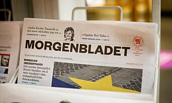 Sommerkampanje floppet for Morgenbladet. Da havnet avisen i en umulig situasjon