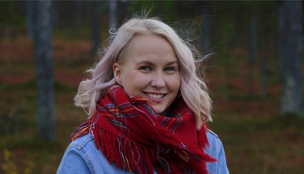 Ánne Márjá Hætta er ny programleder i Studio Sápmi. Foto: Dragan Cubrilo / NRK
