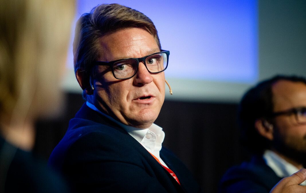 P4-direktør Kenneth Andresen må kutte i bemanningen. Her er han under Radiodager 2019 i Oslo i september. Foto: Eskil Wie Furunes