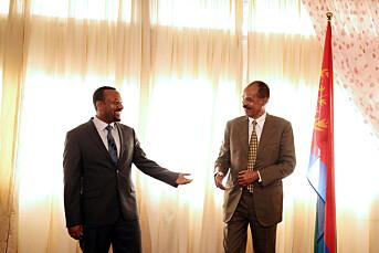 Journalistleder mener fredsprisen legger press på Eritrea