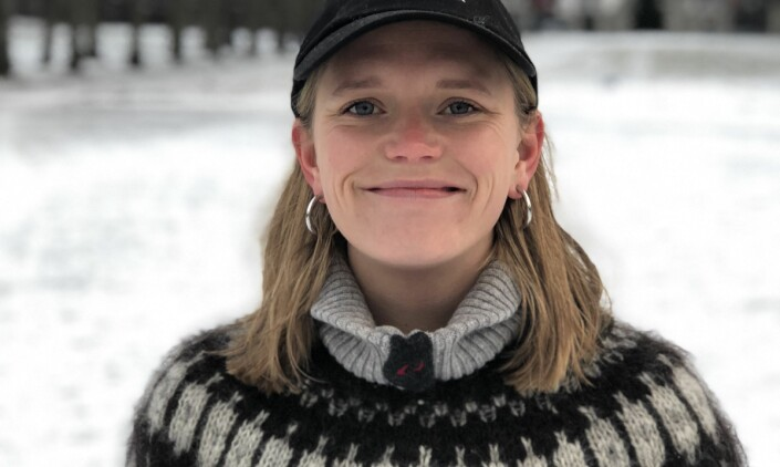 Tonje Oliversen blir journalist i NRK Natur. Foto: Privat