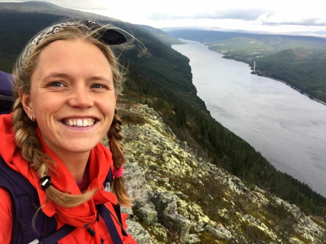 Tonje Oliversen Hun begynner snart som journalist i NRK Natur. Foto: Privat