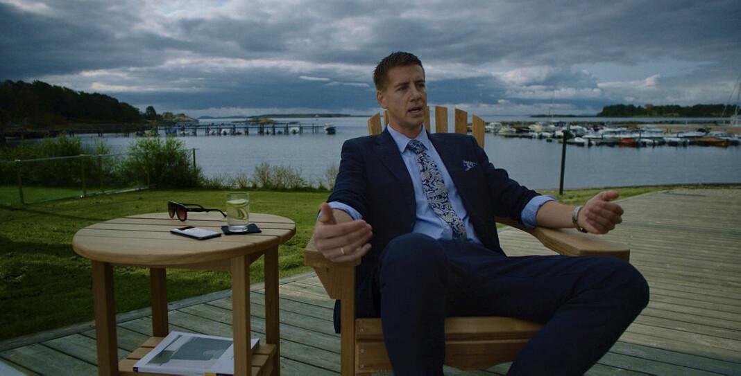 «Exit» og andre NRK-serier blitt omtalt 243 ganger på kanalens egne nyhetssendinger så langt i år. Foto: Fremantle/NRK