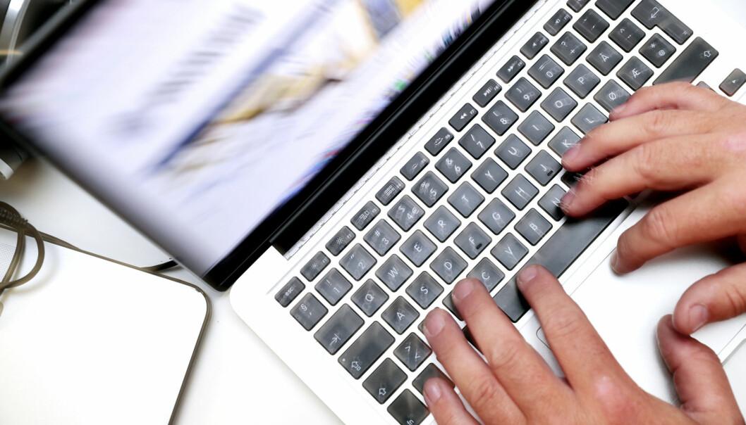 Over 600.000 nordmenn har fått sine passord blottstilt på nettet, blant dem over 2.700 ansatte i Medie-Norge. Illustrasjonsfoto: Lise Åserud / NTB scanpix