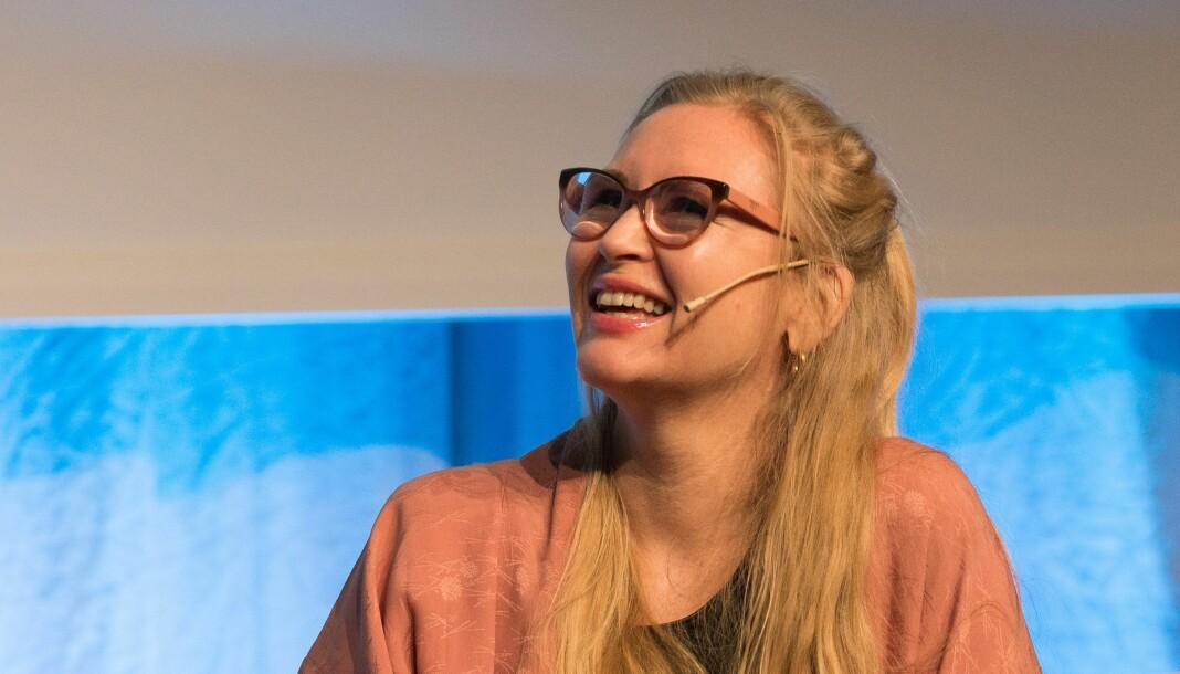 Helle Vaagland slutter som redaksjonssjef for magasinet D2. Foto: Carl-Fredrik Hammersland / Nordiske mediedager (CC BY-SA 2.0-lisens)