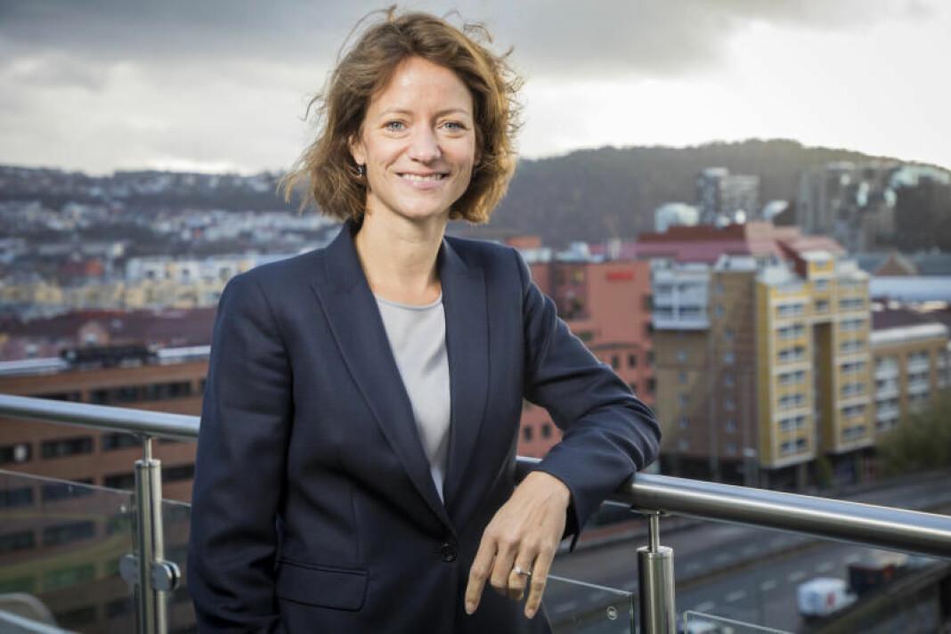 Konsernsjef Hege Yli Melhus Ask presenterte i dag NHST-tallene for tredje kvartal 2019. Foto: NHST