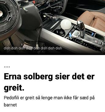 Skjermdump fra Dagbladet