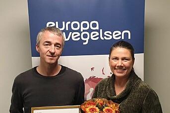 Morgenbladet-journalist hedret av Europabevegelsen