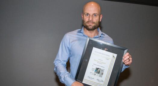 Gull & Gråstein-prisen til Thomas Frigård: – Er et eksempel til etterfølgelse for mange