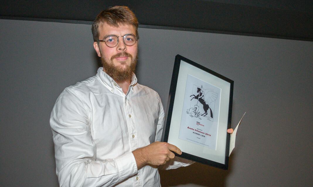Kyrre Lien er Årets frilanser