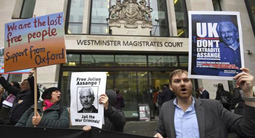 Julian Assange fikk ikke retten med på å utsette utleveringssak
