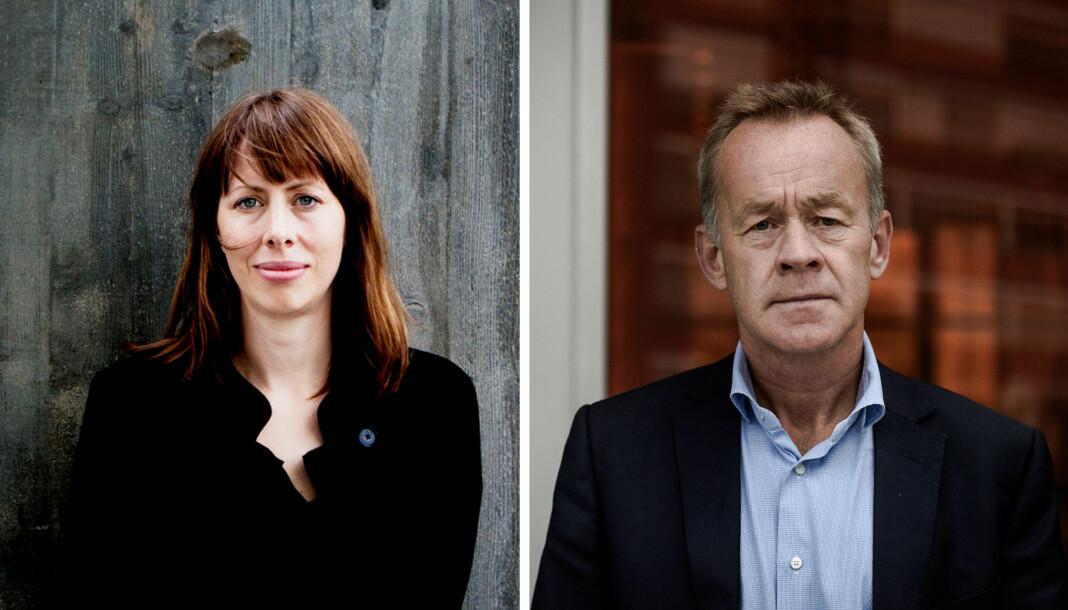 Anna B. Jenssen sier opp som ansvarlig redaktør i Morgenbladet. Styreleder Amund Djuve konstituerer innen kort tid en midlertidig sjef. Foto: Fredrik Bjerknes/John Trygve Tollefsen