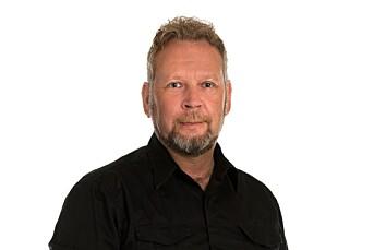 Espen Sandli er ansatt som ansvarlig redaktør i Drammens Tidende