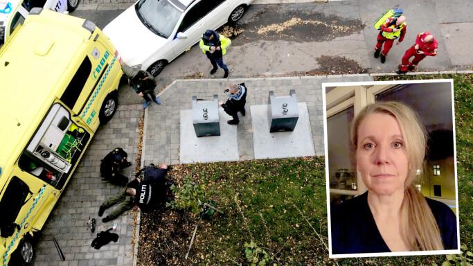 Ambulanse-kapreren endte ferden utenfor dørstokken til Aftenposten-journalisten