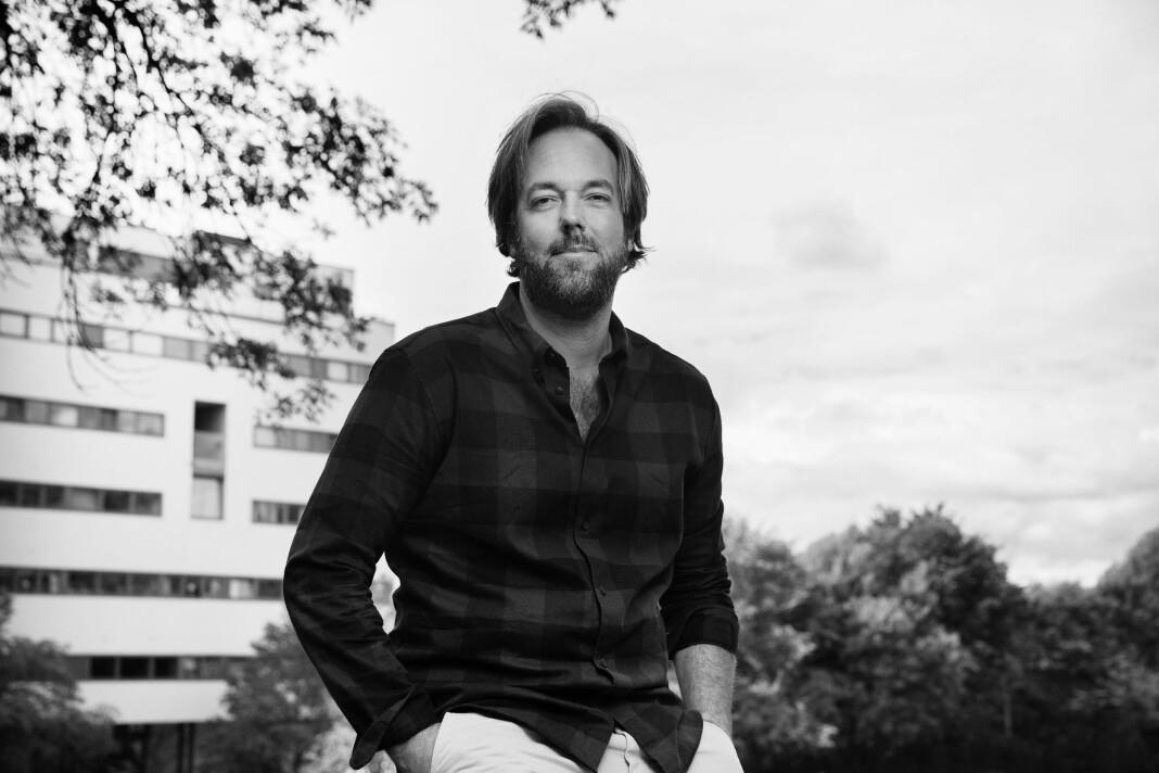 Sven Ole Engelsvold er programleder i NRK P2. Foto: Privat