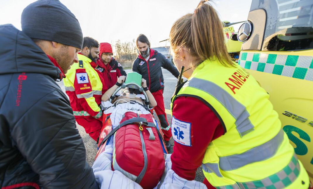 Avdeling for traumatologi ved Ullevål sykehus vil ikke lenger gi ut informasjon om pasienters status. Illustrasjonsfoto: Gorm Kallestad / NTB scanpix