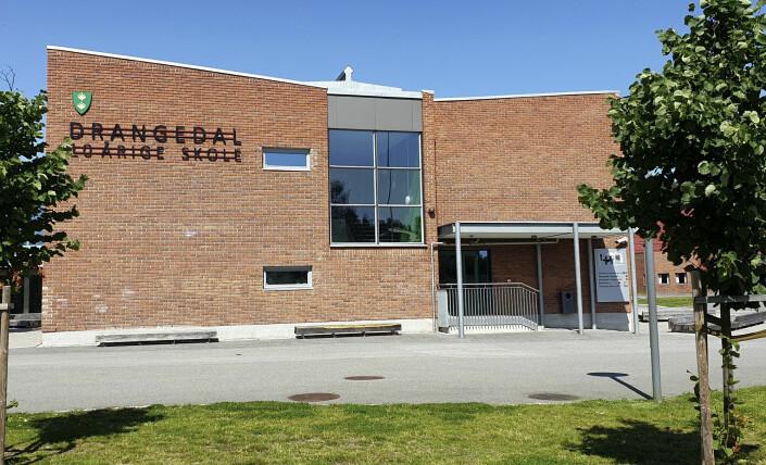 Drangedalsposten avslørte en sterk mobbekultur ved Drangedal 10-årige skole, men møtte motstand fra bygda for sakene. Foto: Karen Aarhus / NTB scanpix