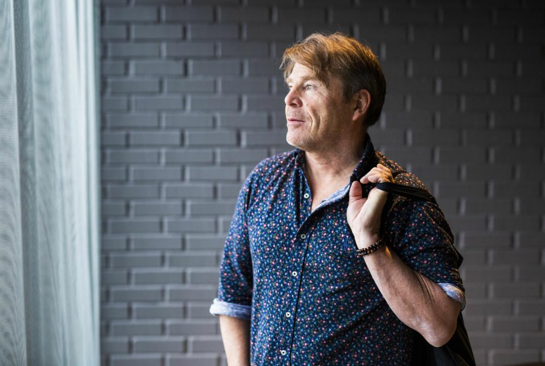 – Jeg har støttet Jan Magne [Stensrud] 200 prosent i arbeidet som journalist, sier Mischa Vanhoudt, nestleder i Drangedalsposten-styret.