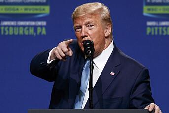 President Trump ber statlige organer si opp New York Times og Washington Post