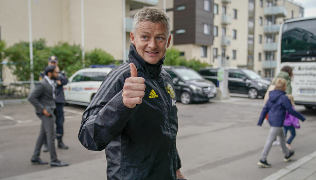 Norske mediers interesse for Ole Gunnar Solskjær ser ikke ut til å falle. Foto: Heiko Junge / NTB scanpix