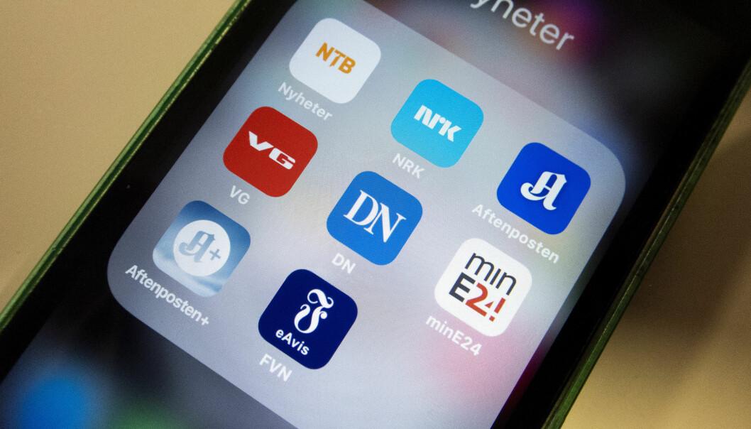Norges befolkning har generell høy tillit til norske medier, ifølge en undersøkelse fra Medietilsynet. NRK har høyest tillit, ifølge undersøkelsen. Illustrasjonsfoto: Gorm Kallestad / NTB scanpix