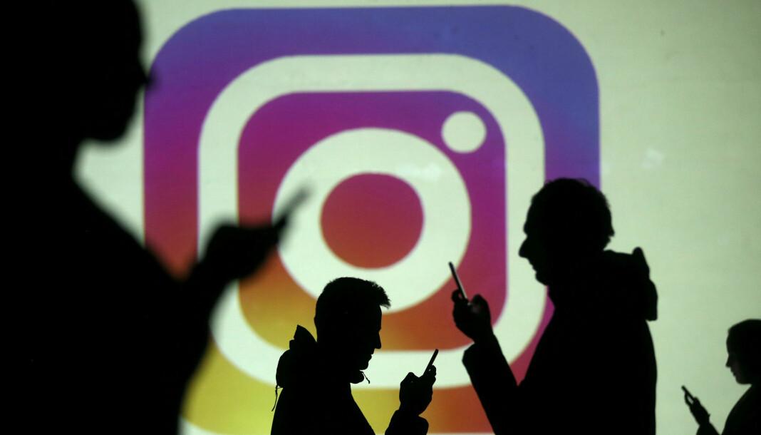 NRK har opprettet fiktive profiler i arbeidet med dekningen av «mørke nettverk»på Instagram. Illustrasjonsbilde: Dado Ruvic/Reuters