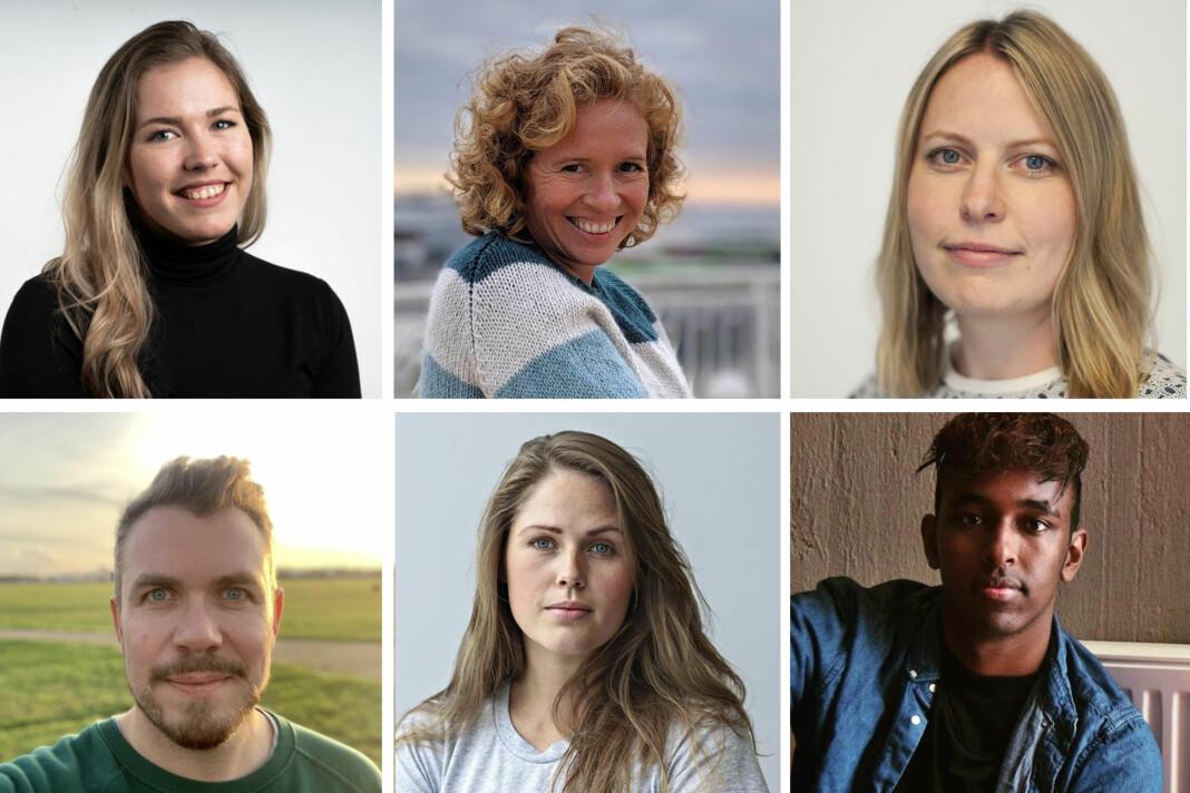 Bergens Tidende styrker staben med seks journalister i faste stillinger: Marita Ramsvik, Linda Hilland, Målfrid Bordvik, Simen Sundfjord Otterlei, Anne Rokkan og Hanad Ali. Foto: BT
