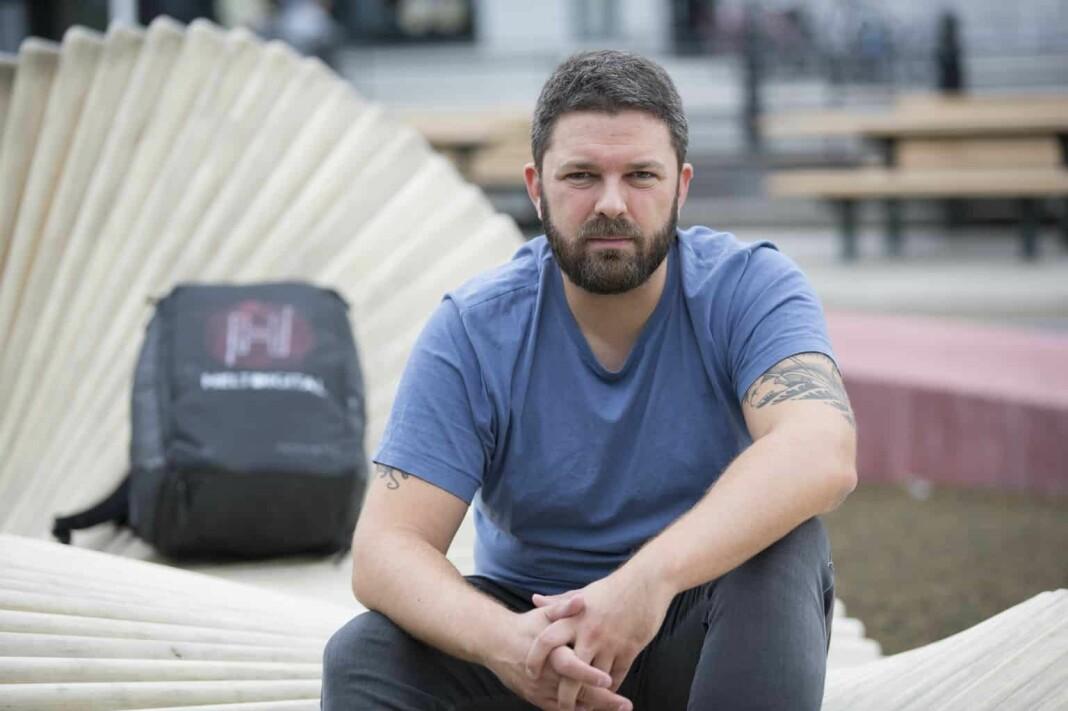 Marius Karlsen, daglig leder i Helt Digital. Foto: Liv-Runi Antonsen
