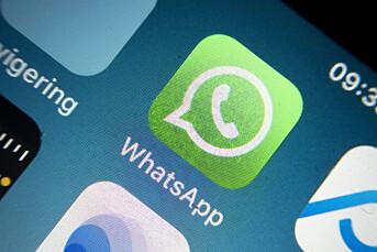 Hacket Whatsapp for å få tilgang til meldinger fra journalister
