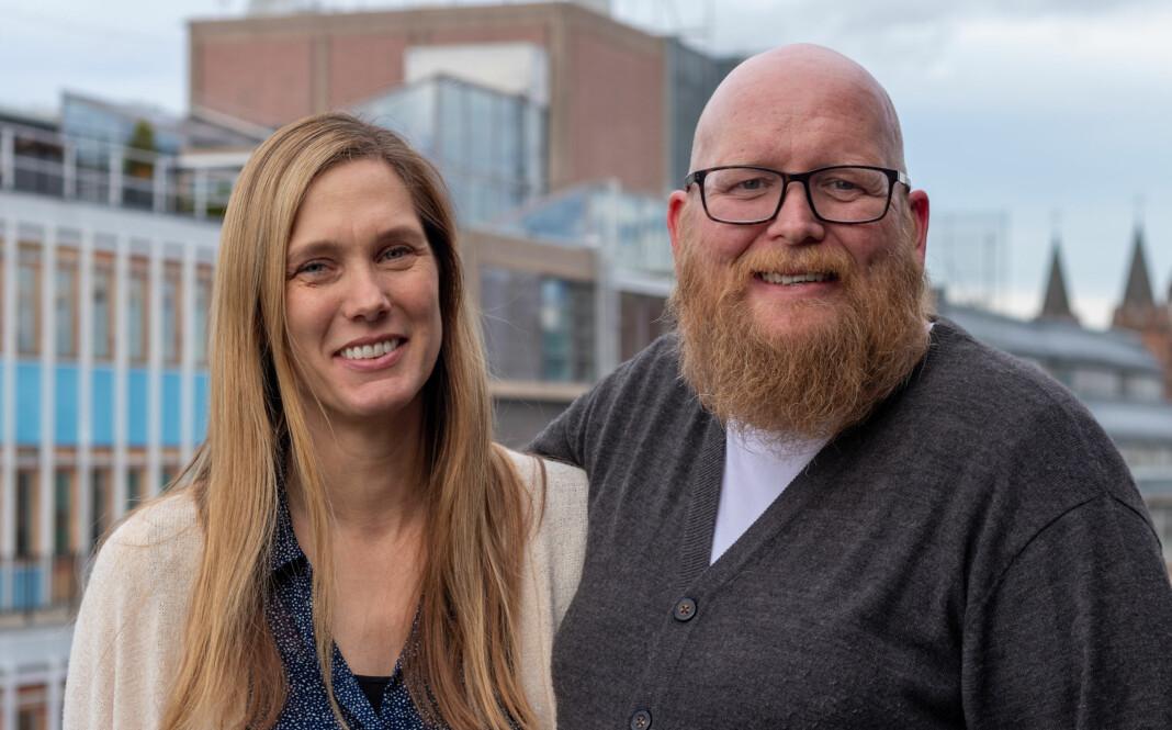 Liv Ingrid Liaaen Mellemseter og Bjørn Skomakerstuen er fast ansatte i Nettavisen. Foto: Nettavisen
