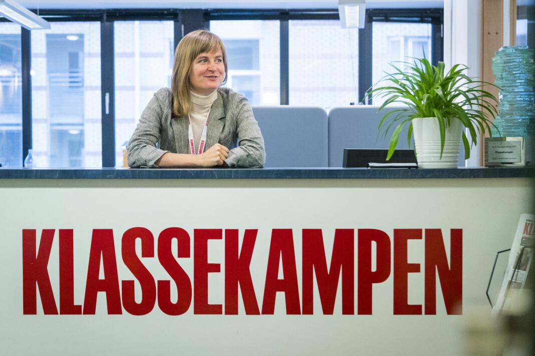 Klassekampen og ansvarlig redaktør Mari Skurdal klages inn for PFU. Arkivfoto: Heiko Junge / NTB scanpix