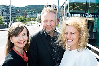 Drammens Tidende ansetter og omorganiserer: Janne Sundelius Braathen blir nyhetsredaktør